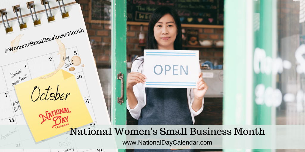 National Women's Small Business Month - October