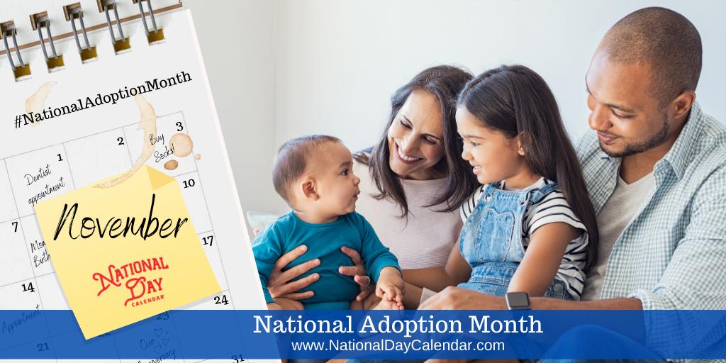 National Adoption Month - November