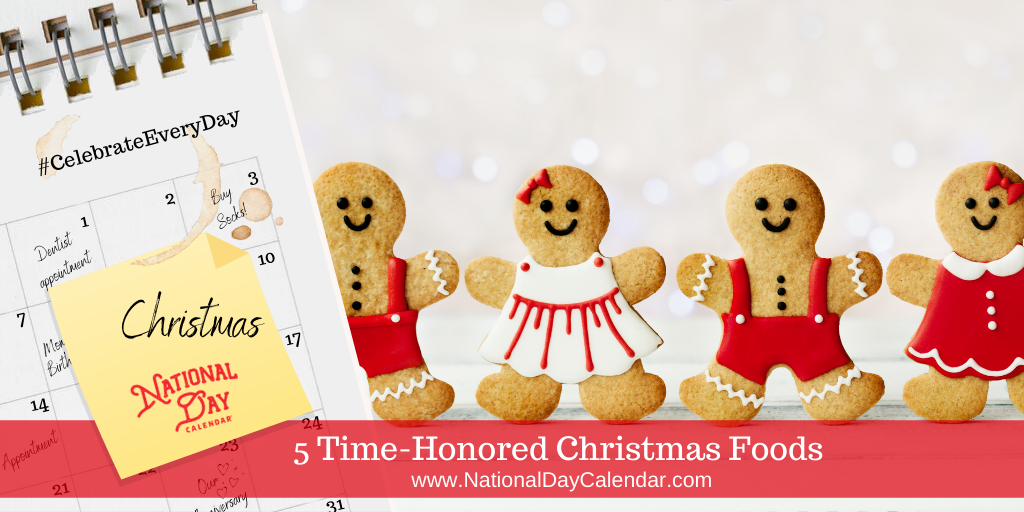 5 Time-Honored Christmas Foods
