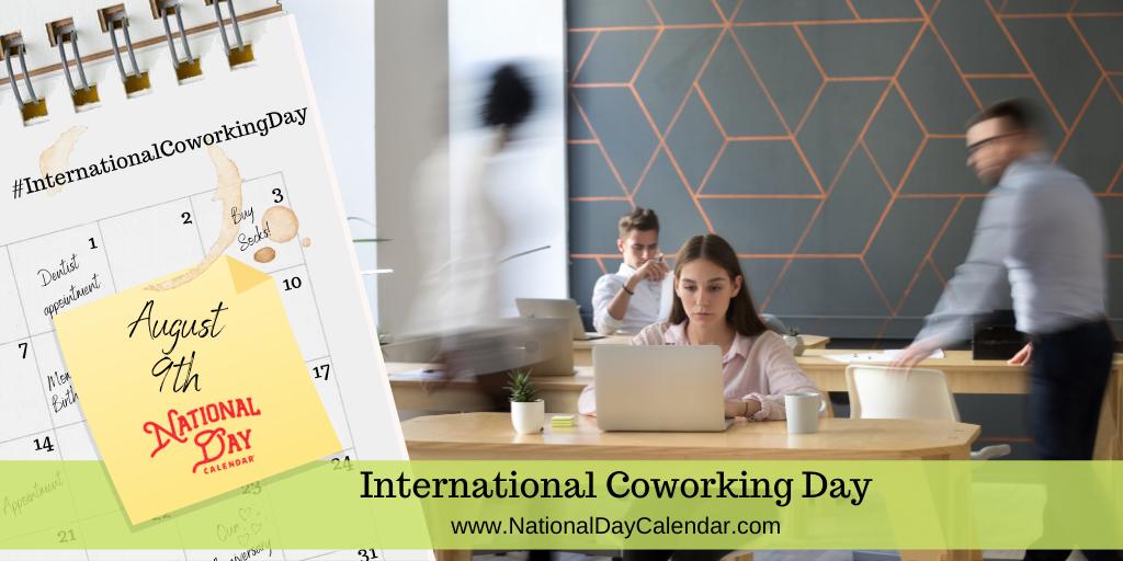 International Coworking Day - August 9