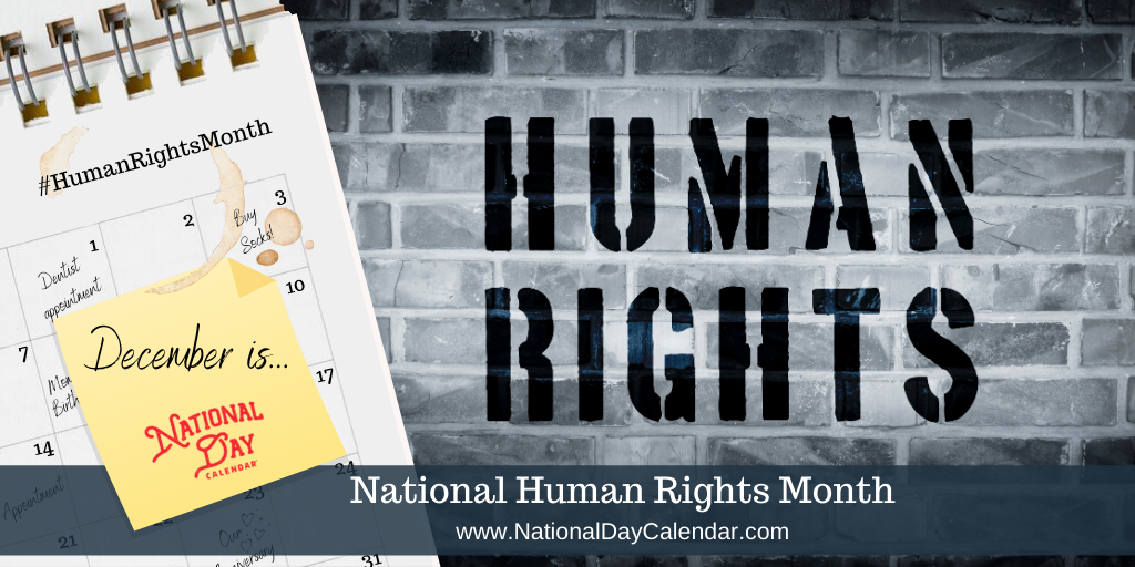National Human Rights Month - December
