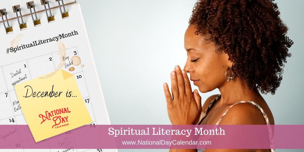 Spiritual Literacy Month - December