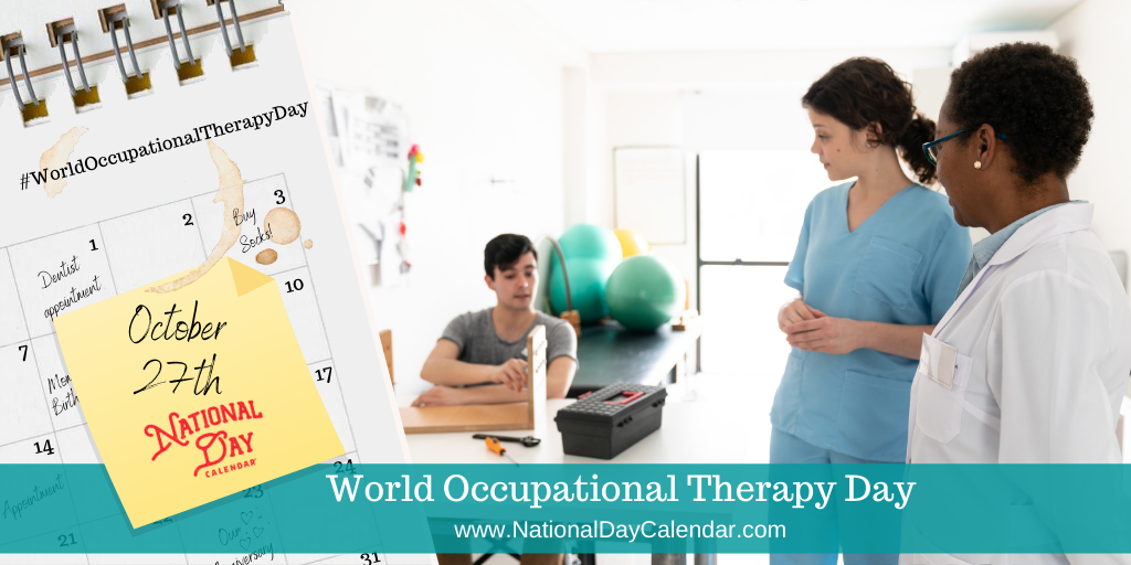 World Occupational Therapy Day - October 27