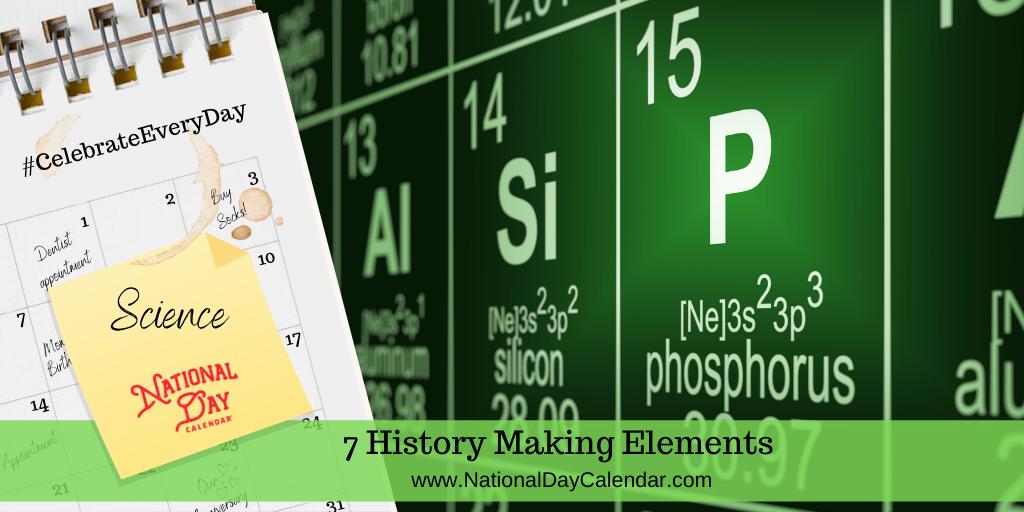 7 History Making Elements