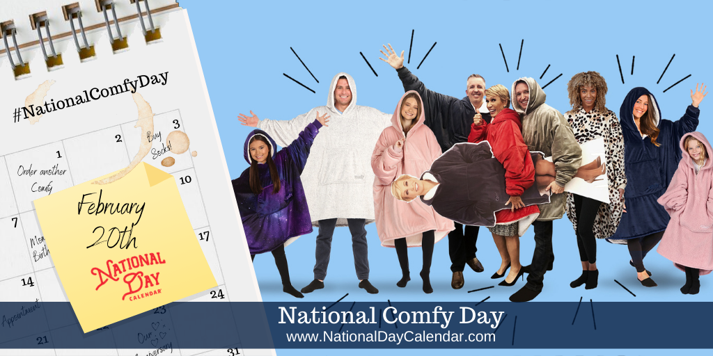 National Comfy Day - February 20