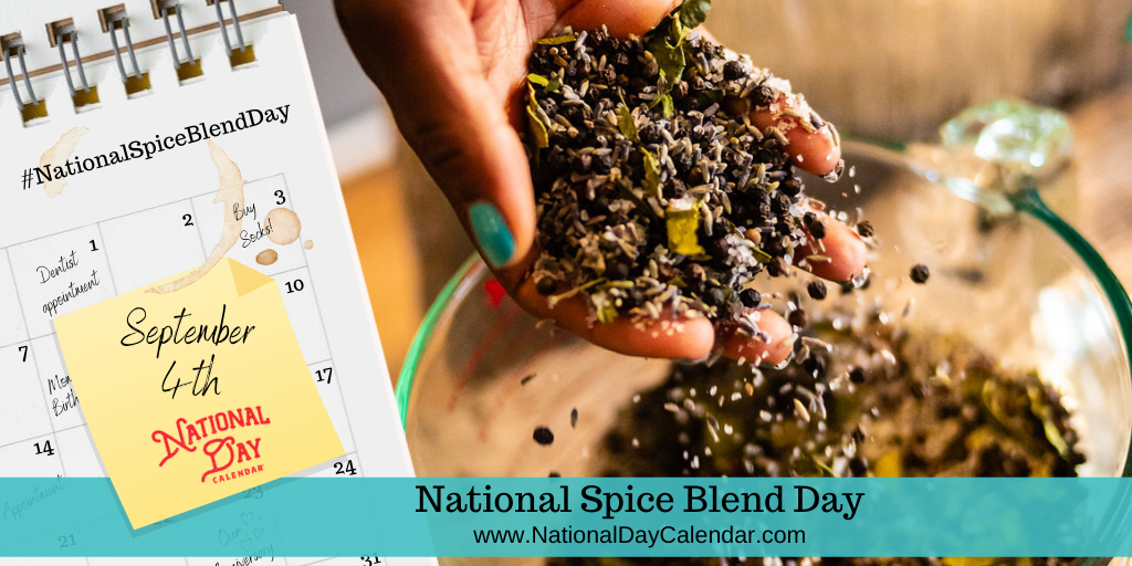 NEW DAY PROCLAMATION | NATIONAL SPICE BLEND DAY – September 4
