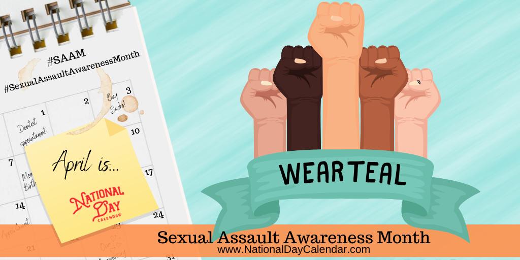 Sexual Assault Awareness Month - April