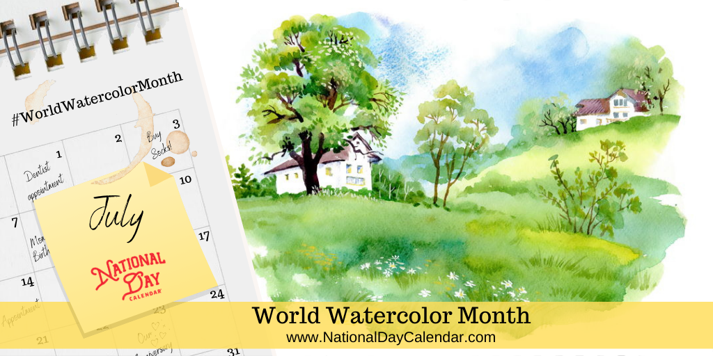 World Watercolor Month - July