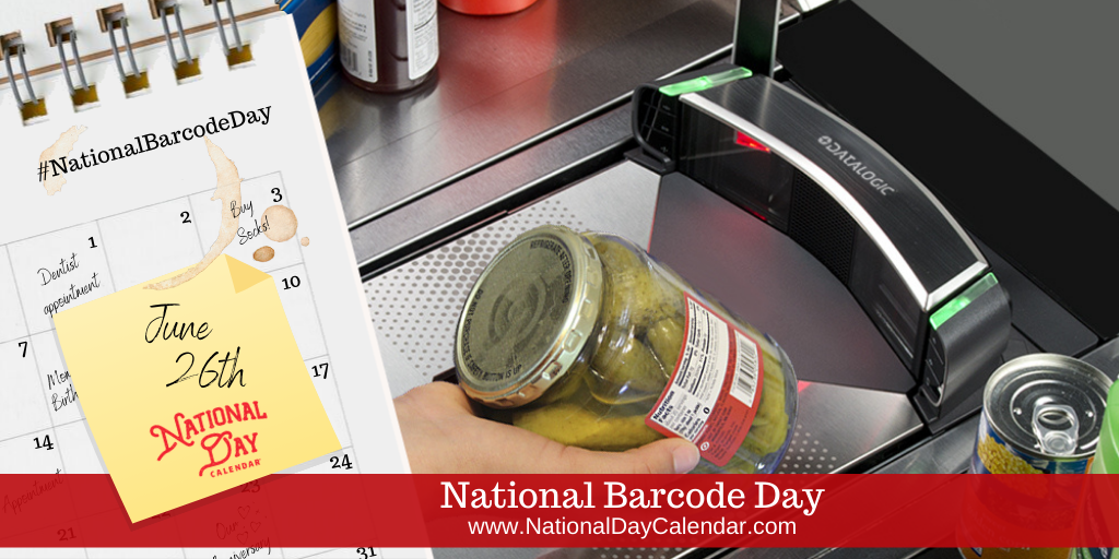 National Barcode Day - June 26