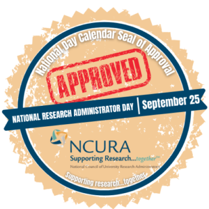 National Council of University Research Administrators seal