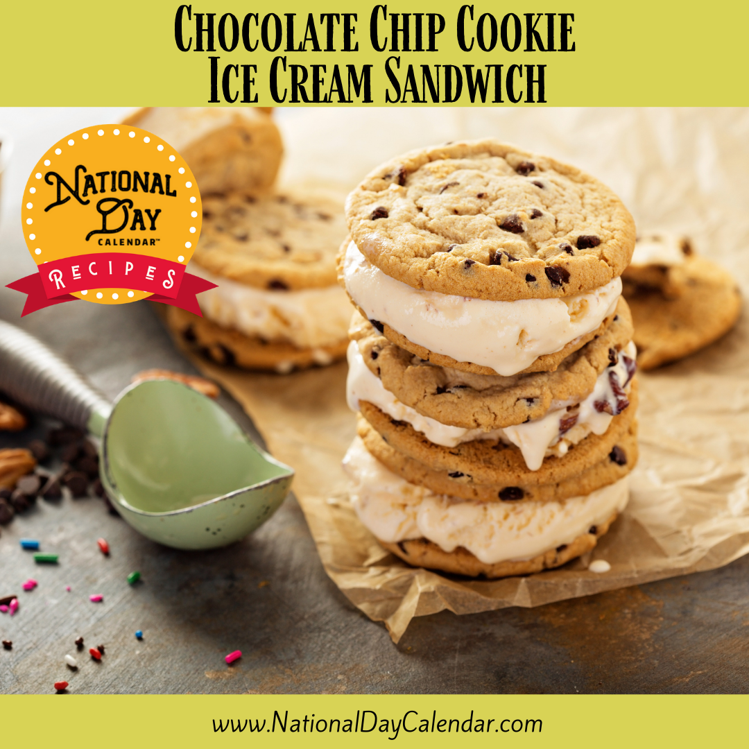 Chocolate Chip Cookie Ice Cream Sandwich recipes