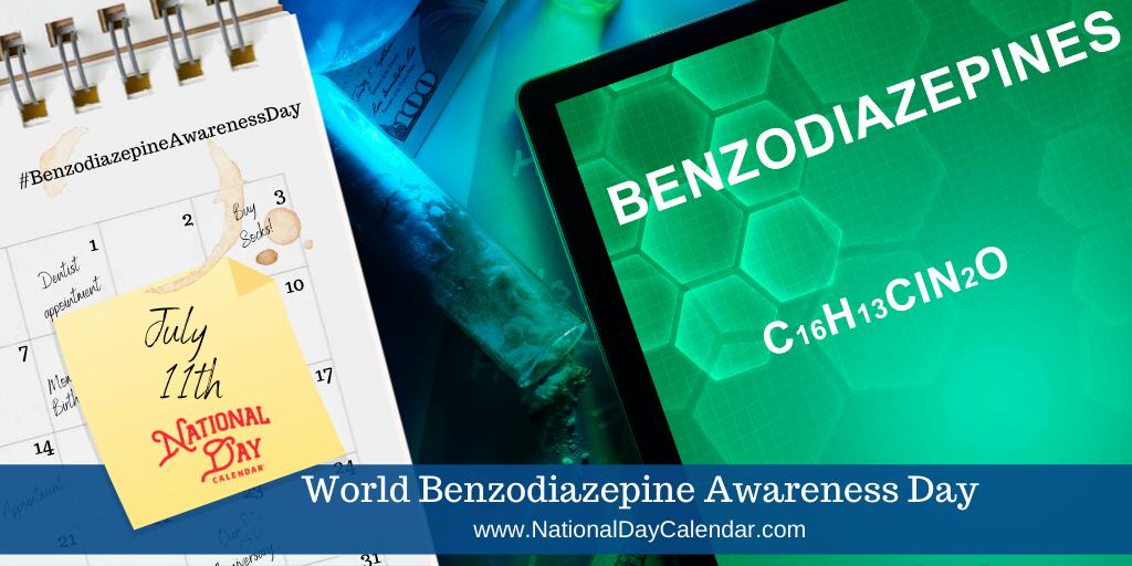 World Benzodiazepine Awareness Day - July 11