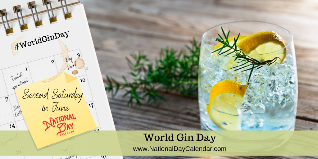 World Gin Day - Second Saturday in June