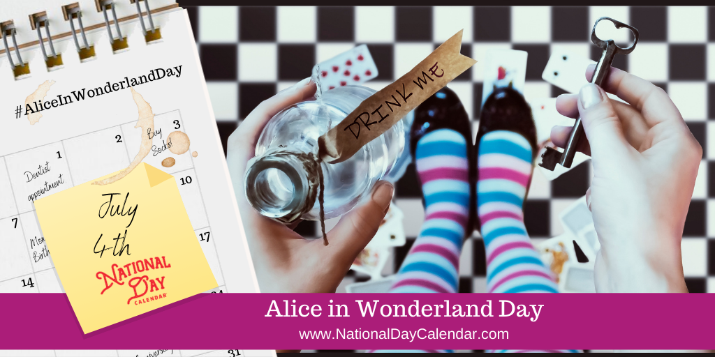 Alice in Wonderland Day - July 4