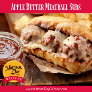 Apple Butter Meatball Subs Recipe