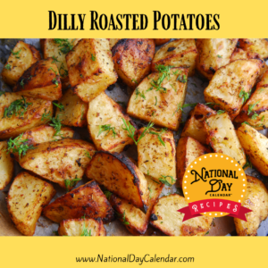 Dilly Roasted Potatoes