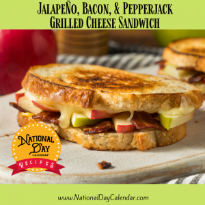 Jalapeno, Bacon & Pepper Jack Grilled Cheese Sandwich