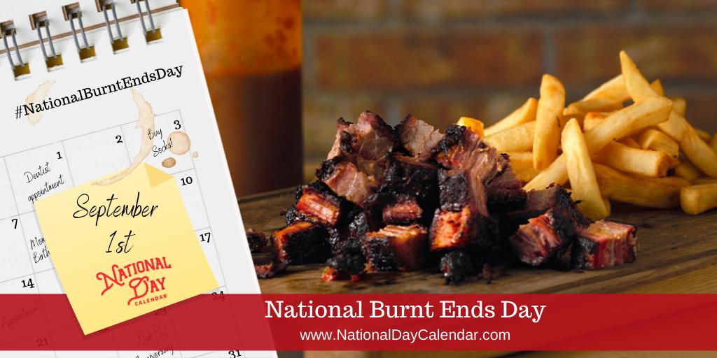 National Burnt Ends Day - September 1