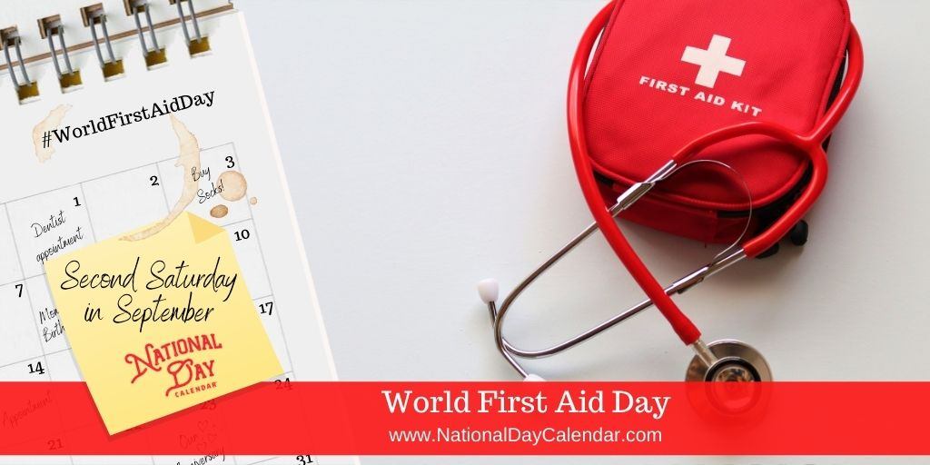 World First Aid Day - Second Saturday in September