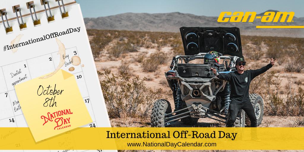 International Off-Road Day - October 8