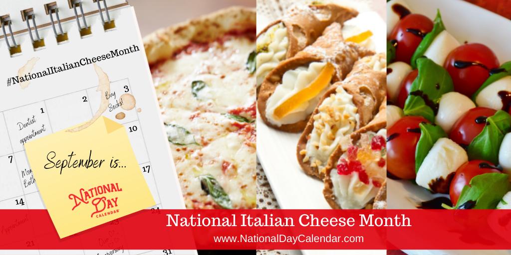 National Italian Cheese Month - September