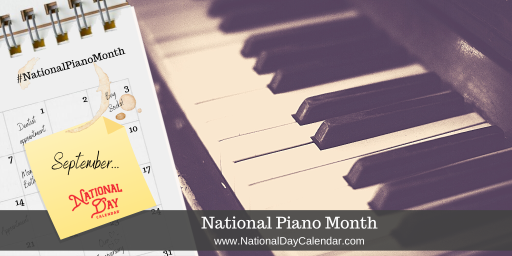 National Piano Month - September