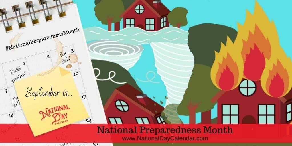 National Preparedness Month - September