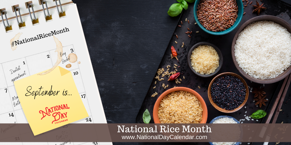 National Rice Month - September
