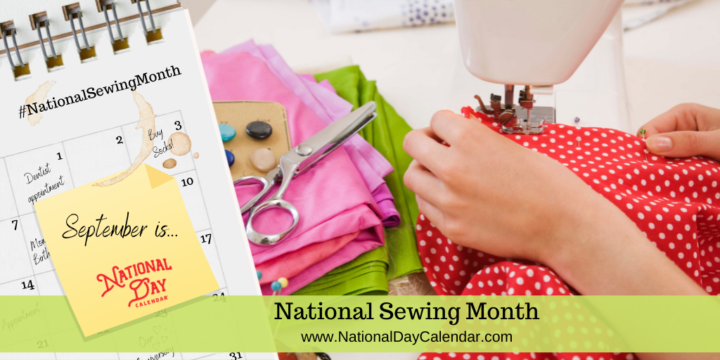 National Sewing Month - September