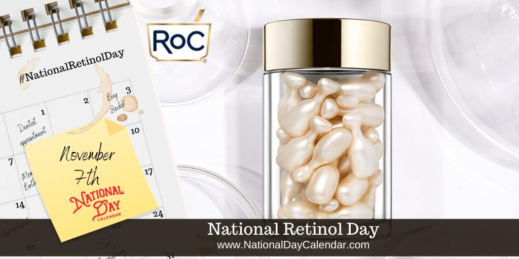 National Retinol Day - November 7